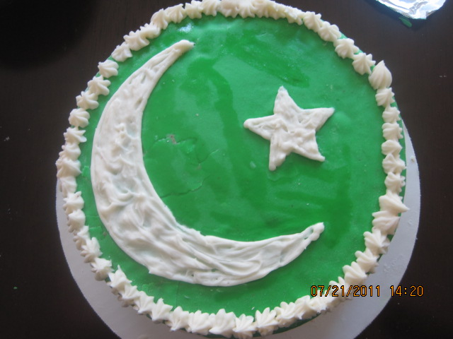 Inpendence Day Cake ( 2lbs)