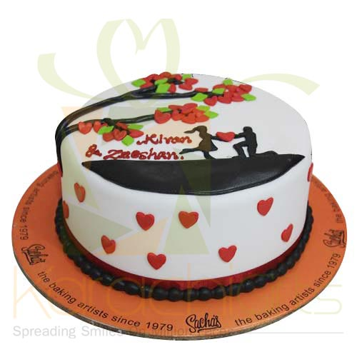 Love Tree Cake 4lbs By Sachas