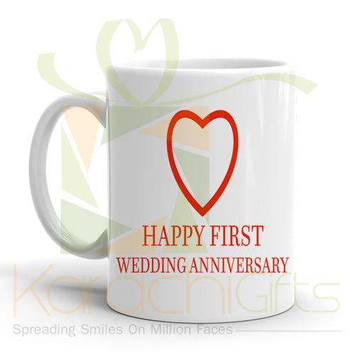 Wedding Anniversary Mug