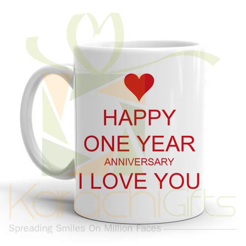 Happy One Year Mug