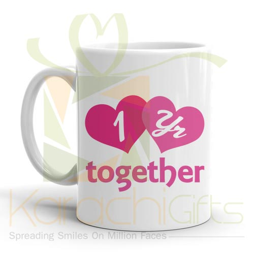 1st Year Together Mug