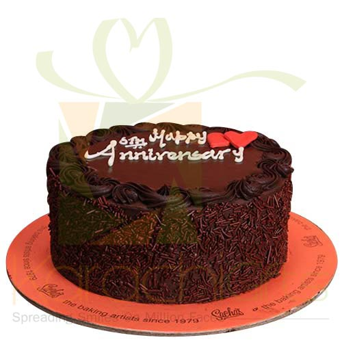 Anniversary Sprinkled Cake By Sachas