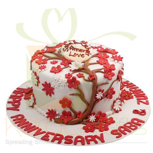 Love Tree Anni Cake 5lbs By Sachas