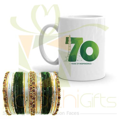 Azaadi Mug With Choori