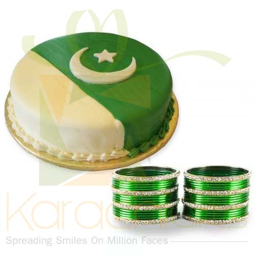 Flag Cake With Choori