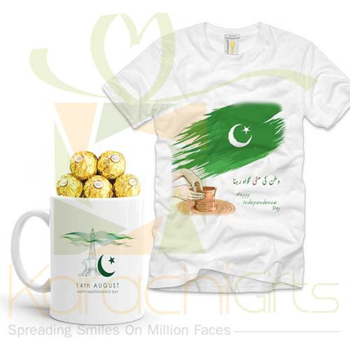 Ferrero Mug With T-Shirt