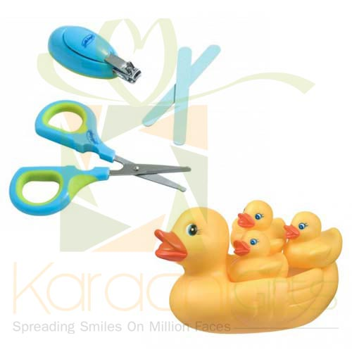 Nail Care With Duck Toy