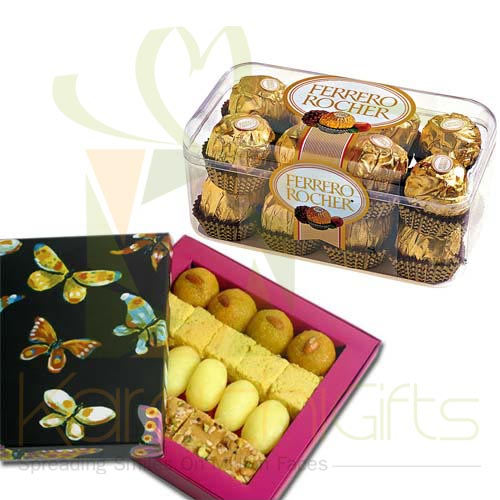 Mithai With Ferrero