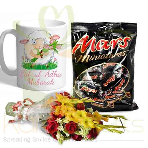 Mug Flower Chocolates