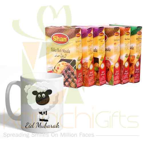 Eid Mug With Masala Boxes