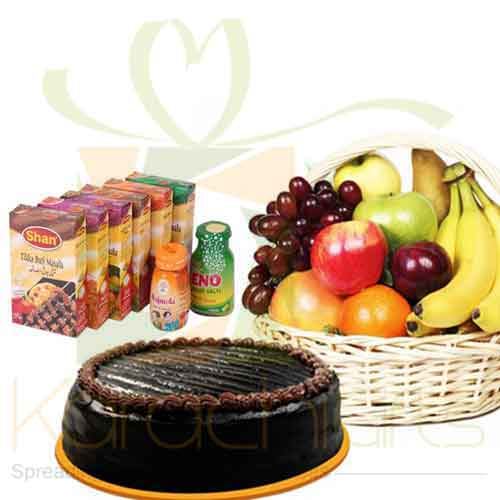 Fruits Cake And Masala Packs
