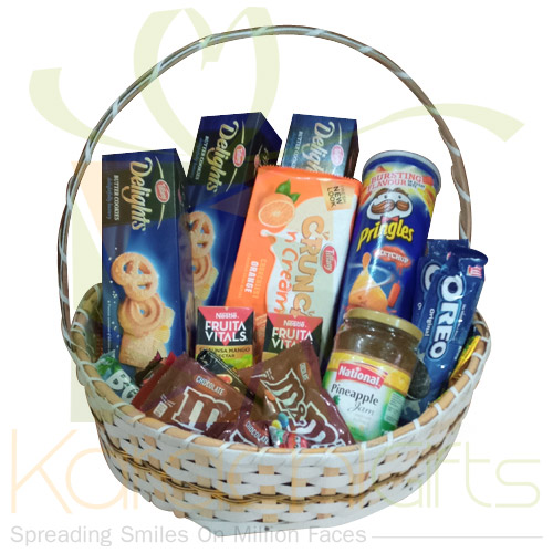 Biscuits And Cookies Basket