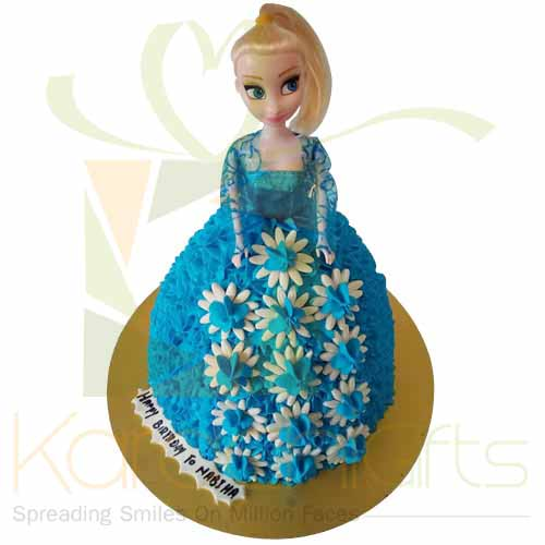 Doll Cake 5lbs-Blue Ribbon