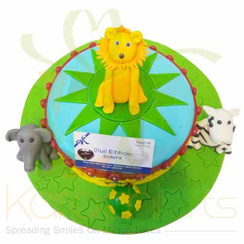 Lion Cake 5lbs-Blue Ribbon