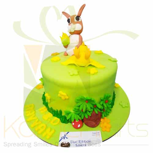 Rabbit Cake 5lbs-Blue Ribbon