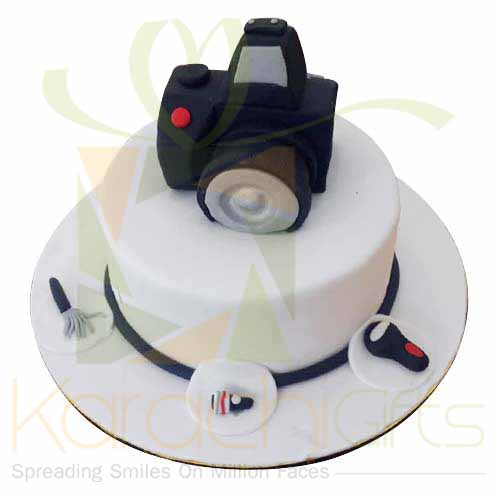 Photographer Cake 5lbs-Blue Ribbon