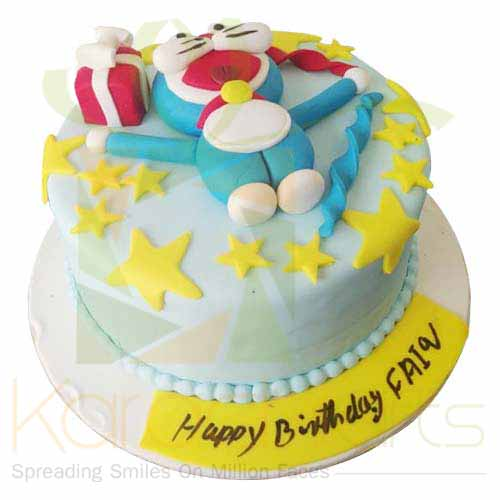 Doraemon Cake 5lbs-Blue Ribbon