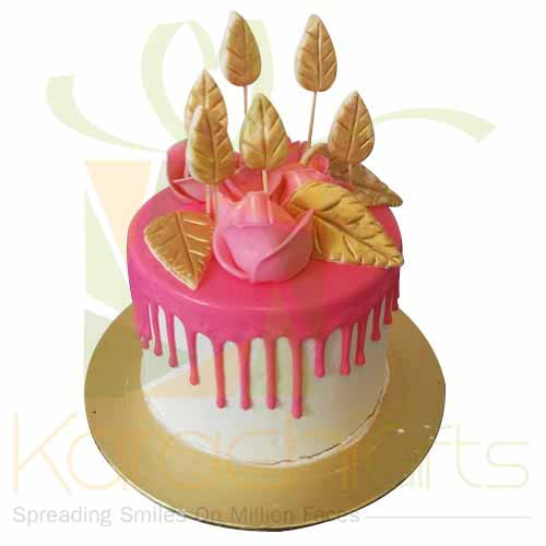 Pink Beauty Cake 5lbs-Blue Ribbon