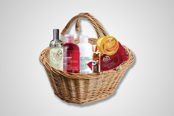The Body Shop Basket