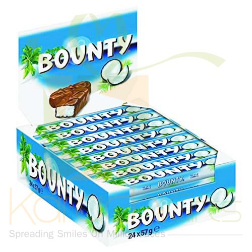 Bounty Chocolates 24 Bars (50Gms Each)