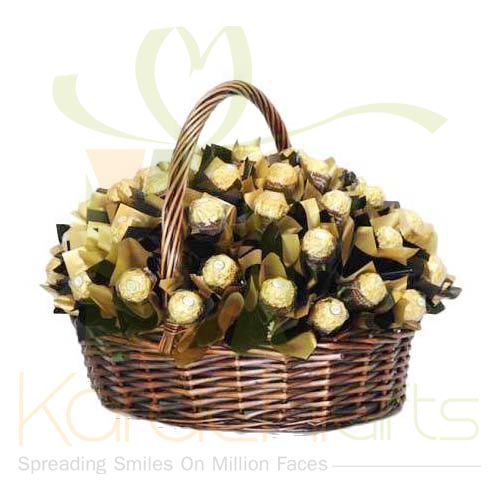 Brown Ferrero Basket