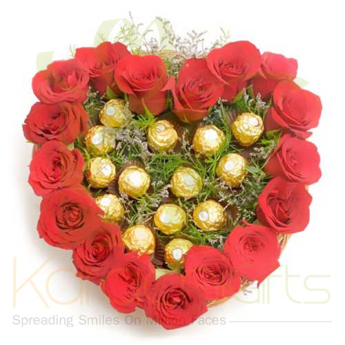 Ferrero Rose Heart