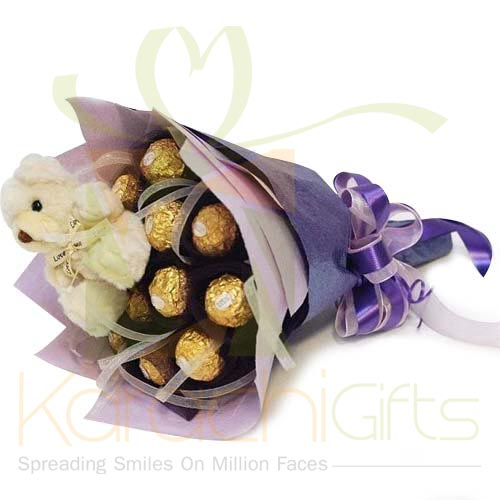Teddy Ferrero Bouquet