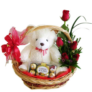 Mothers Day Sweet Basket