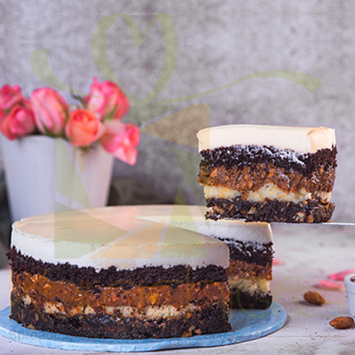 Chocolate And Toffee Cake - Sky Bakers