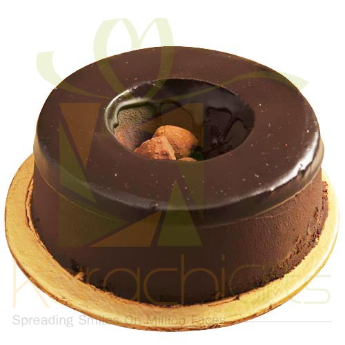 Choco Truffle Ring Cake 2.2lbs By Sky Bakers