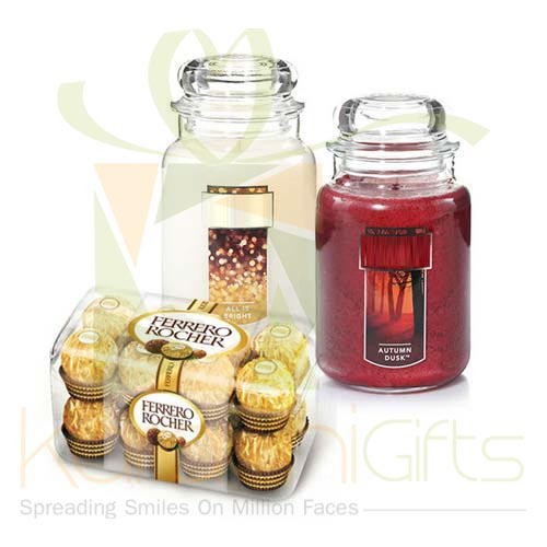 Candles With Chocs