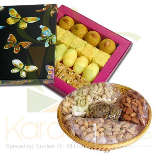 1Kg Mithai With Dryfruits