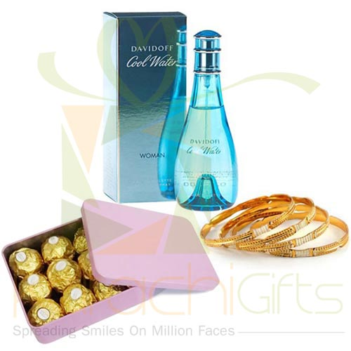 Chocs n Choori With Cool Water