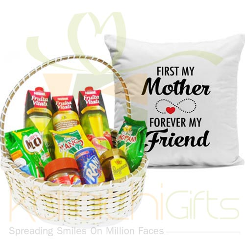 Juice Basket With Mother Cushion