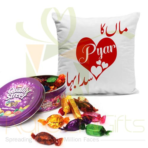Maa Cushion With Quality Street