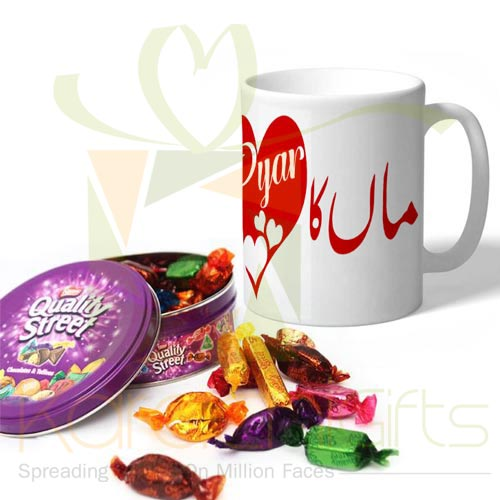Maa Mug With Quality Street