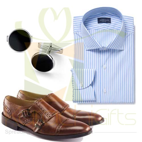 Shirt Cufflinks Shoes