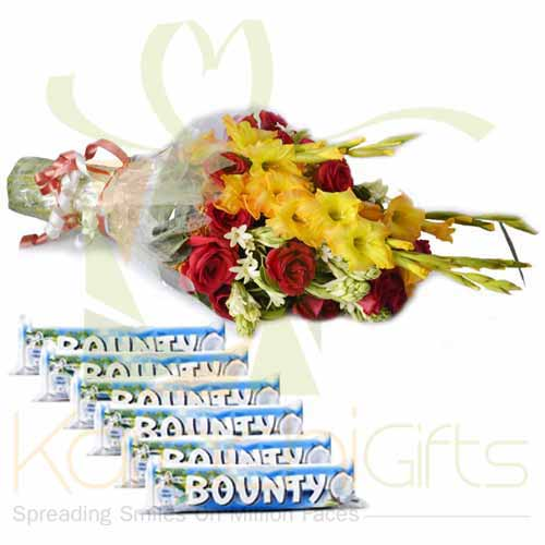 Bounty Bars With Bouquet
