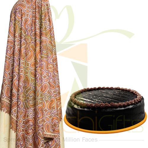 Shawl With Cake