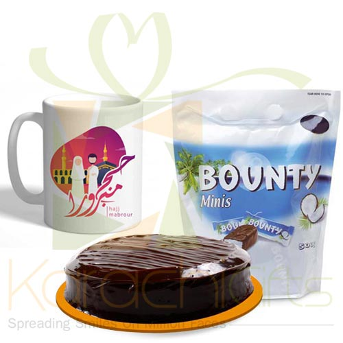 Chocs Cake And Mug (Hajj Deal)