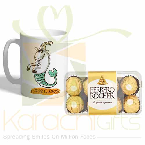 Capricorn Mug With Ferrero
