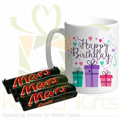 Birthday Mug With Mars
