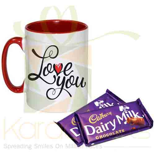 Cadbury With Love Mug