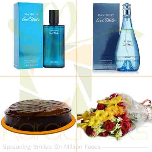 Perfumes Cake And Chocolate (For Couple)