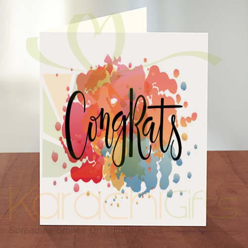 Congratulation Card 04