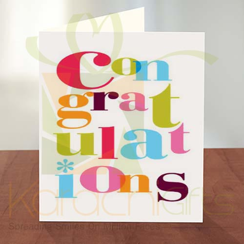 Congratulation Card 05