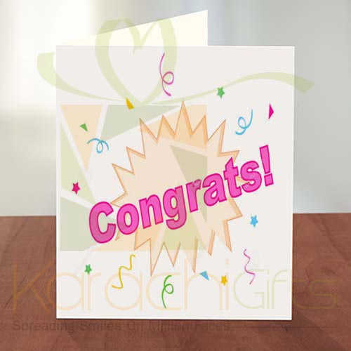 Congratulation Card 06