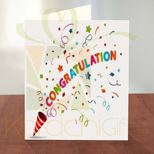 Congratulation Card 08