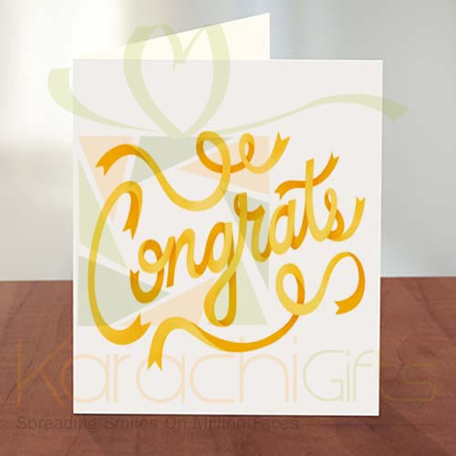 Congratulation Card 09