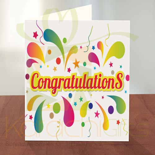 Congratulation Card 10